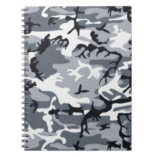 Urban Camouflage Notebook