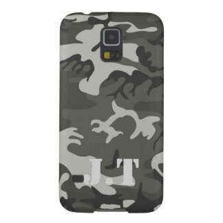 Urban Camouflage Pattern Monogram Galaxy S5 Covers