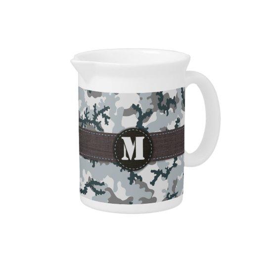 Urban camouflage pitcher
