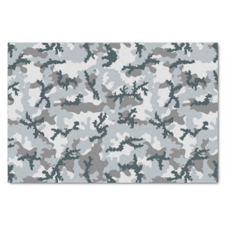 Urban camouflage tissue paper