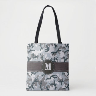 Urban camouflage tote bag