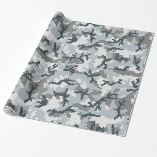 Urban camouflage wrapping paper