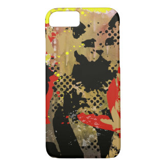 urban cat graffiti iPhone 7 case
