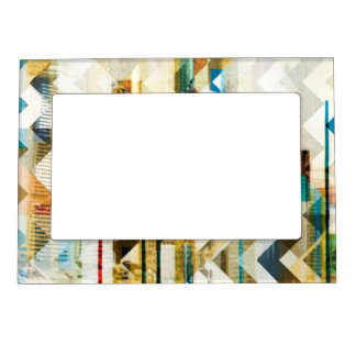 Urban Chevron II Magnetic Picture Frame