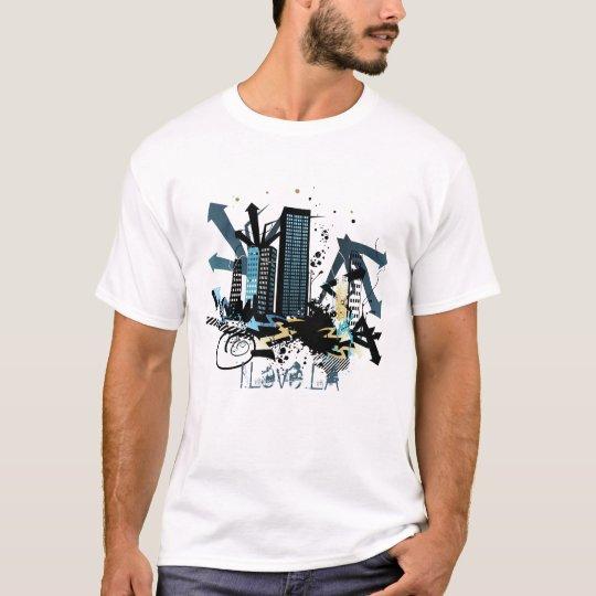 "Urban City Graffiti Shirt ""I love LA"""
