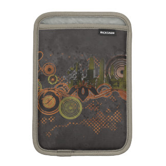 Urban City Grunge Background Sleeve For iPad Mini
