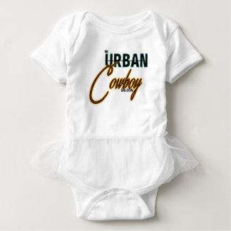 Urban Cowboy Saloon Baby Bodysuit