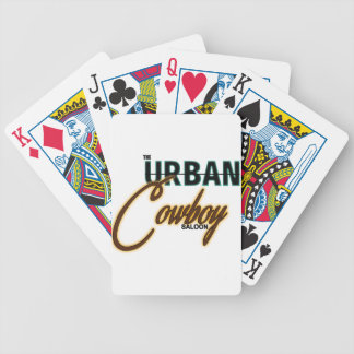 Urban Cowboy Saloon Bicycle Playing Cards
