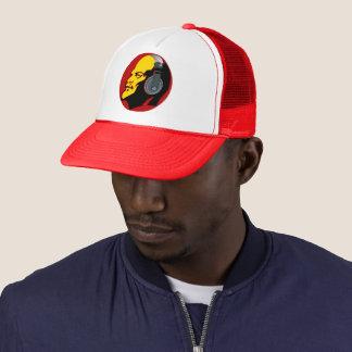 URBAN DJ RED LENIN TRUCKER HAT