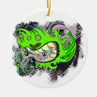 Urban Dragon Christmas Ornament