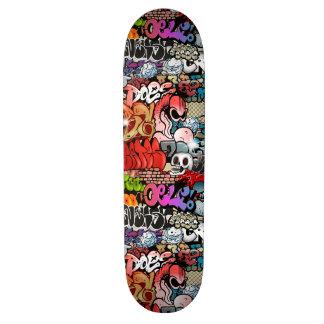 Urban dynamic street art Graffiti art pattern Skate Boards