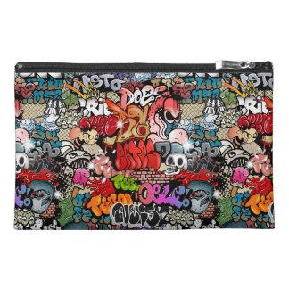 Urban dynamic street art Graffiti art pattern Travel Accessory Bag