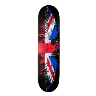 Urban England Eagle Graffiti Custom Pro Board 18.1 Cm Old School Skateboard Deck
