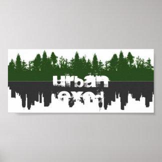 Urban Exodus - Mirror Poster