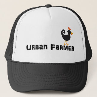Urban Farmer Chicken Hat