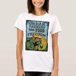 Urban Farmers for Food Freedom Logo T-Shirt