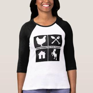 Urban Farmers for Food Freedom Tee Shirts