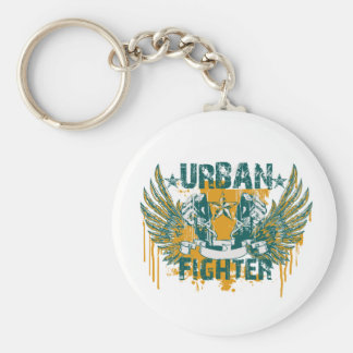 Urban Fighter Basic Round Button Key Ring