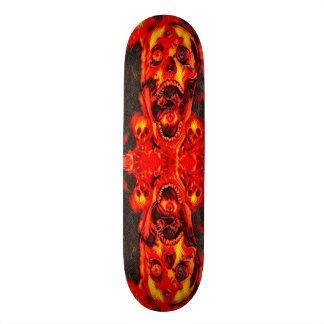Urban Fire Skulls Element Custom Pro Board Skateboard