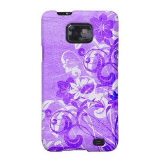 Urban Garden (Purple) Galaxy S2 Cover