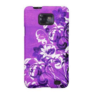 Urban Garden (Purple) Samsung Galaxy S2 Cases