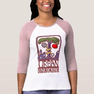 urban gardening raglan tshirt
