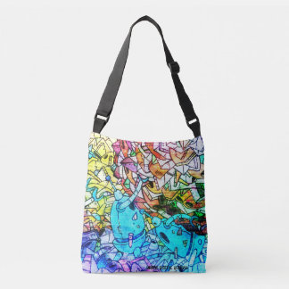 Urban Graffiti Art All-Over-Print Cross Body Bag