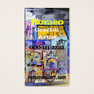 Urban Graffiti Business Card