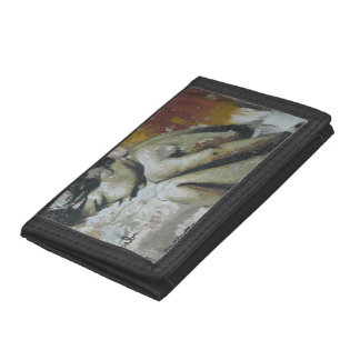 Urban graffiti street art trifold wallet