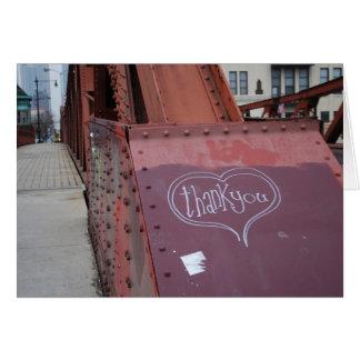 Urban Graffiti Thank You Card