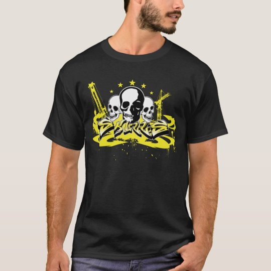 Urban Grafitti Skull Shirt