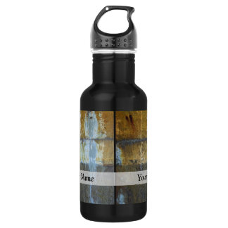 Urban grunge abstract pattern 532 ml water bottle