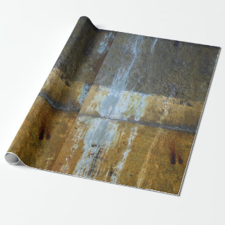 Urban grunge abstract pattern wrapping paper