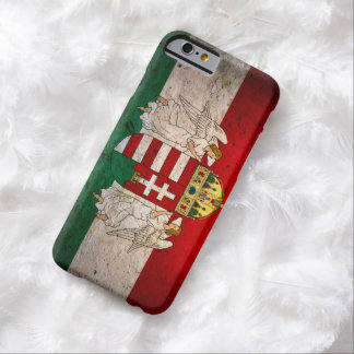 Urban Grunge Hungary Flag iPhone 6 Case