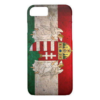 Urban Grunge Hungary Flag iPhone 7 Case