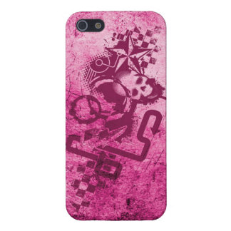 Urban Grunge Pink iPhone 5/5S Covers