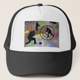 Urban Guerilla Paintball Trucker Hat