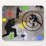 Urban Guerrilla Paintball Mousepads
