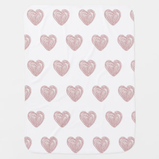 Urban Heart Girls Baby Blanket