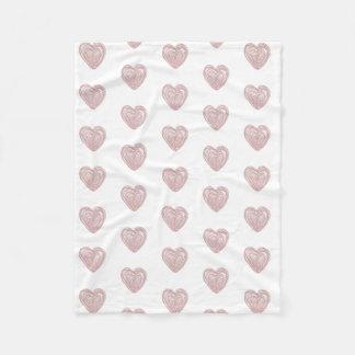 Urban Heart Large Fleece Blanket