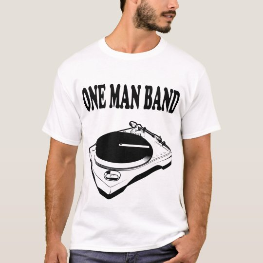 Urban Hip Hop One Man Band DJ Beatz (Tee) T-Shirts