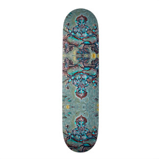 Urban Indie Ganesha Rave Custom Pro Board 21.3 Cm Mini Skateboard Deck