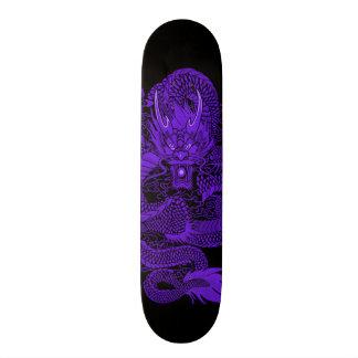 Urban Indigo Dragon Element Custom Pro Deck 19.7 Cm Skateboard Deck