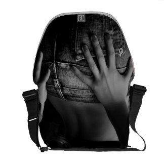 Urban Jeans Girl B/W Messenger Bag