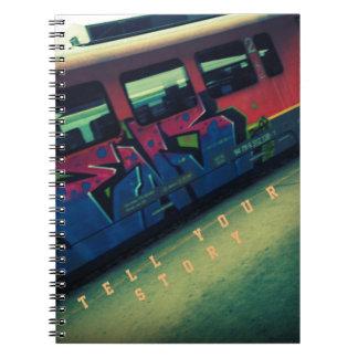 Urban Journal Spiral Notebooks