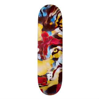 Urban Juggalo Wolf Custom Pro Banger Board Skateboard Deck