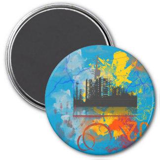 Urban Jungle2 Refrigerator Magnet
