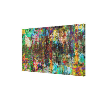 Urban Jungle-Digital Original Art Canvas Print