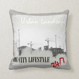 Urban Landscape Pillow