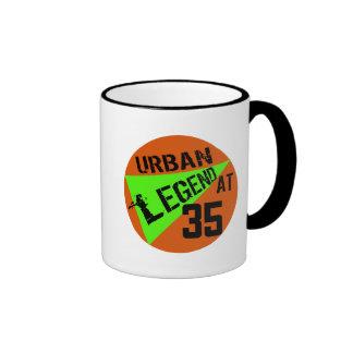 Urban Legend 35th Birthday Gifts Coffee Mugs